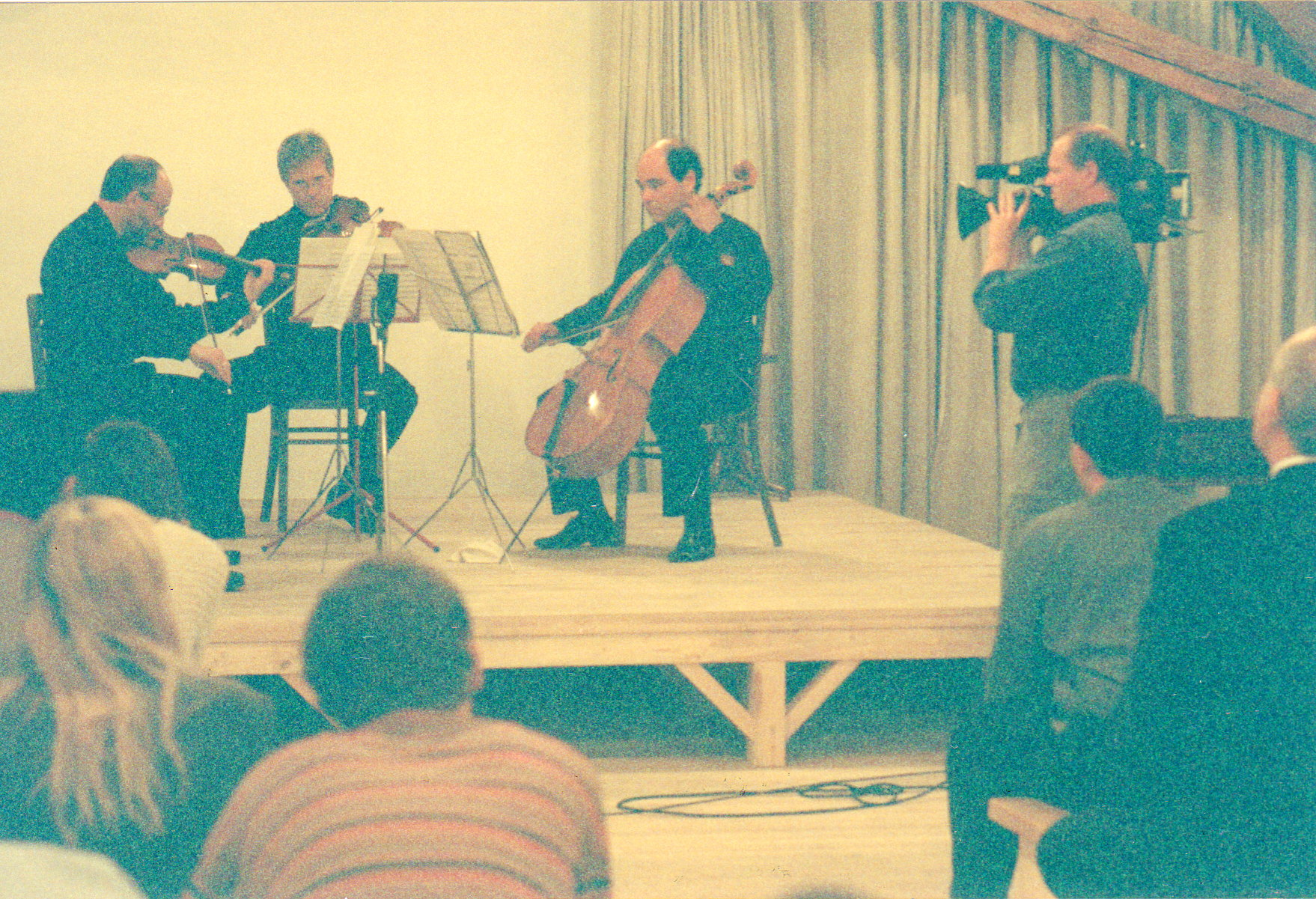 BSO musicians, Attic Theater, Theresienstadt